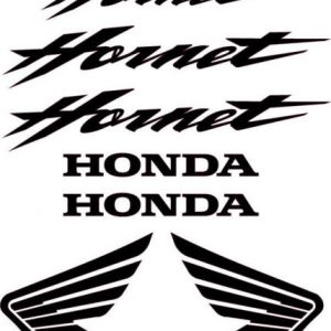 planche stickers Honda Hornet