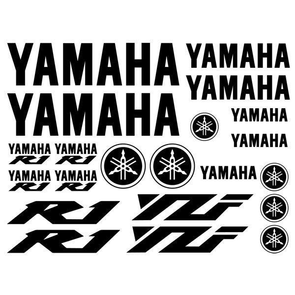 Planche de stickers Yamaha