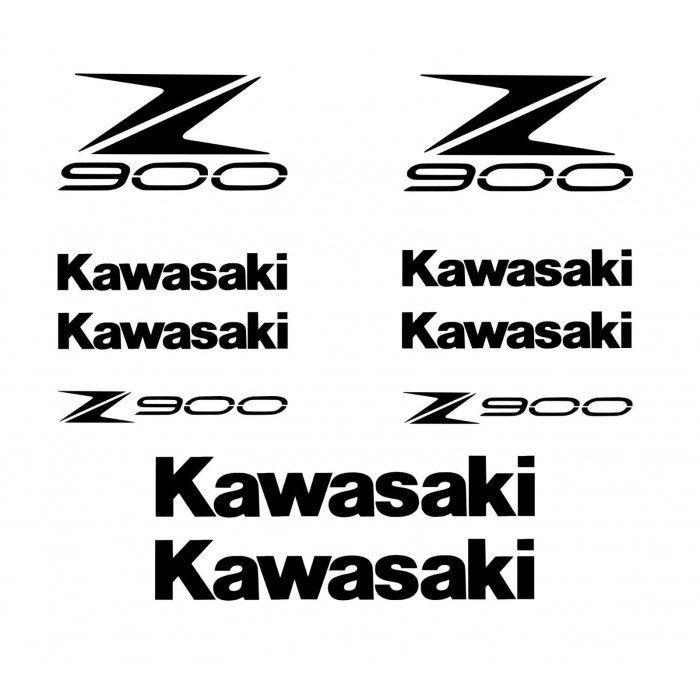 Planche De Stickers Kawasaki Z900