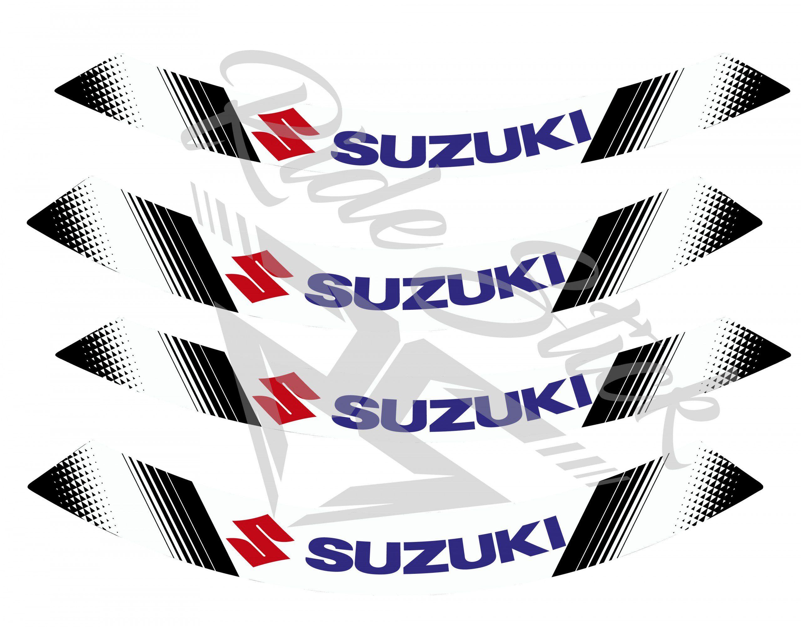 Liserets imprimés Suzuki